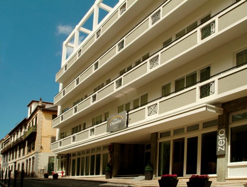 2 Pohled na hotel Orquidea, Funchal