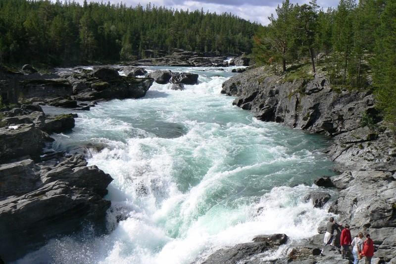 Norsko - divok� pe�eje �eky Sjoa