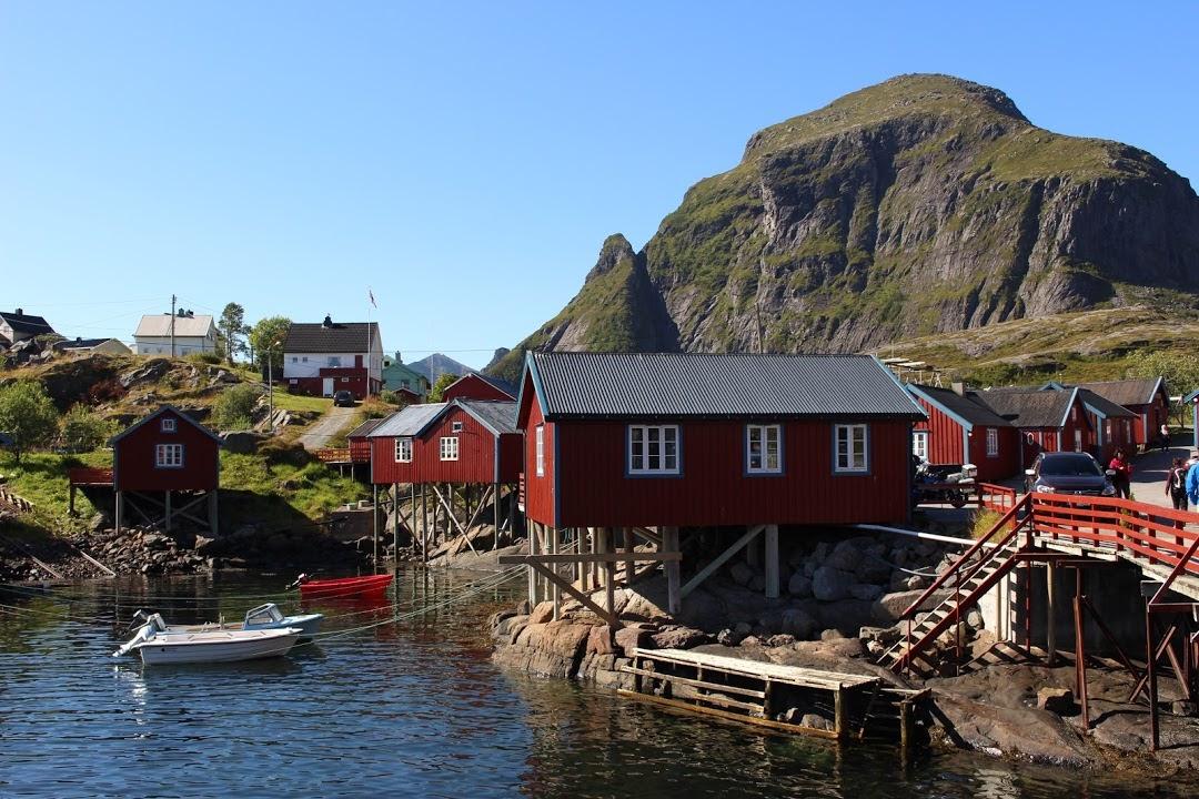 Rorbuer- rybářské domky