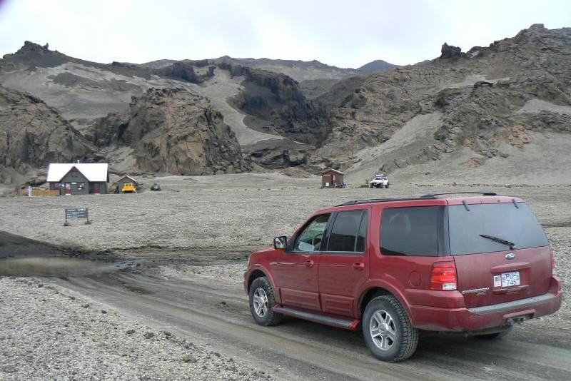 Zázemí pro turisty u terénních cest