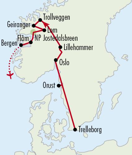 Mapy zájezdů / 37NO_A_Norsko – nejkrásnější fjordy _A
