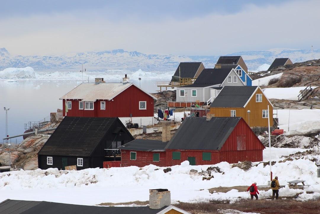 Barevné domky jsou pro Grónsko typické