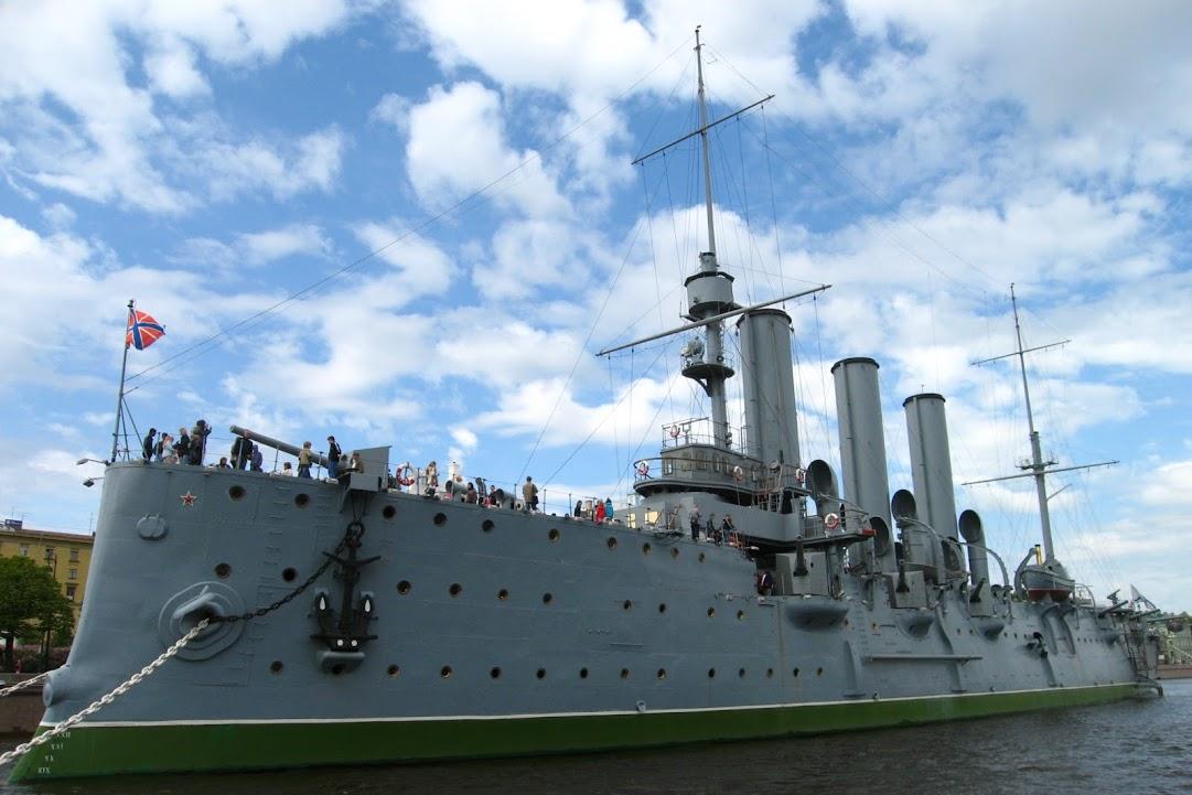 Petrohrad křižník Aurora