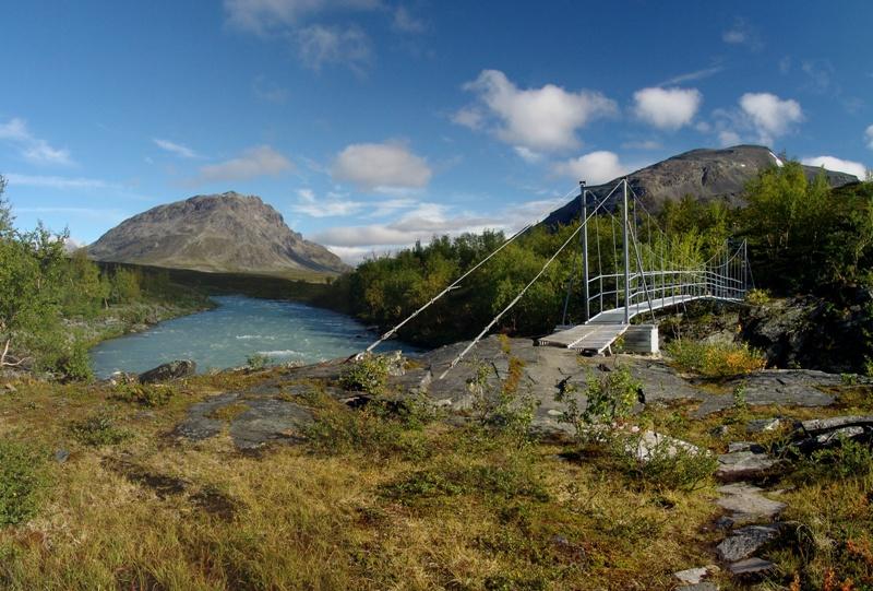 Ceakcajohka, švédské Laponsko