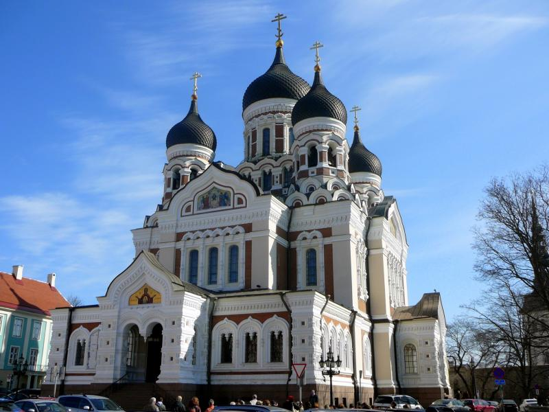 Chrám svatého Alexandra Nevského v Tallinnu