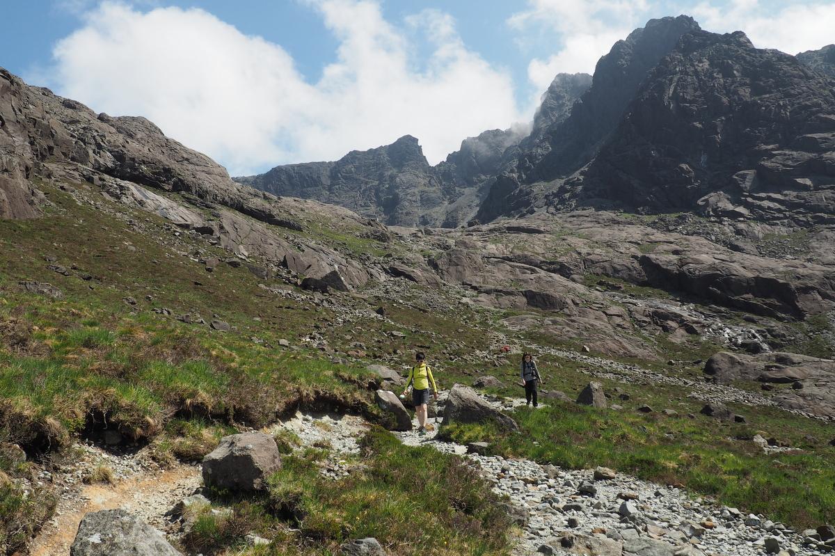 Cuilinn Hills na ostrově Skye