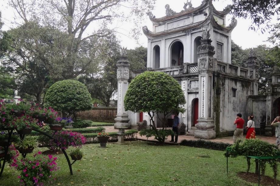 Hanoj- chrám literatury