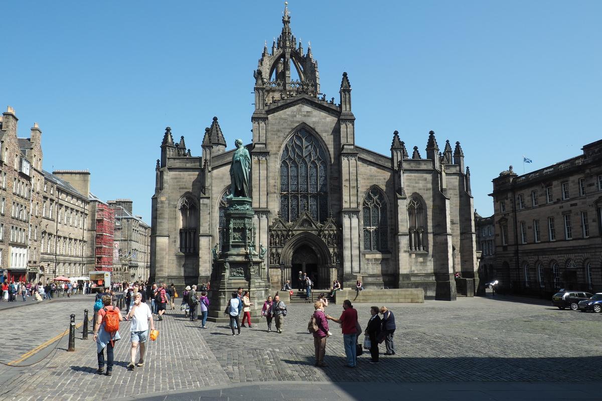 Hlavní edinburghská katedrála St. Gilles