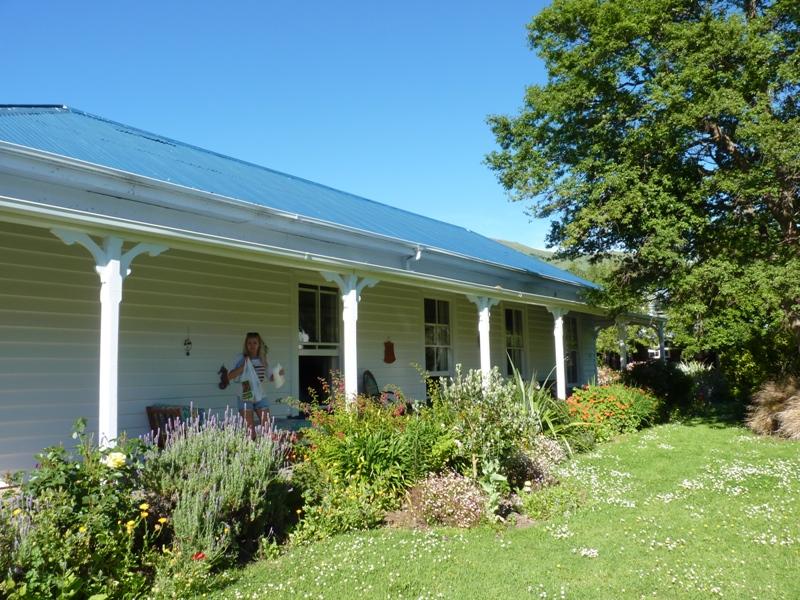 Nový Zéland / hostel vAkaroa