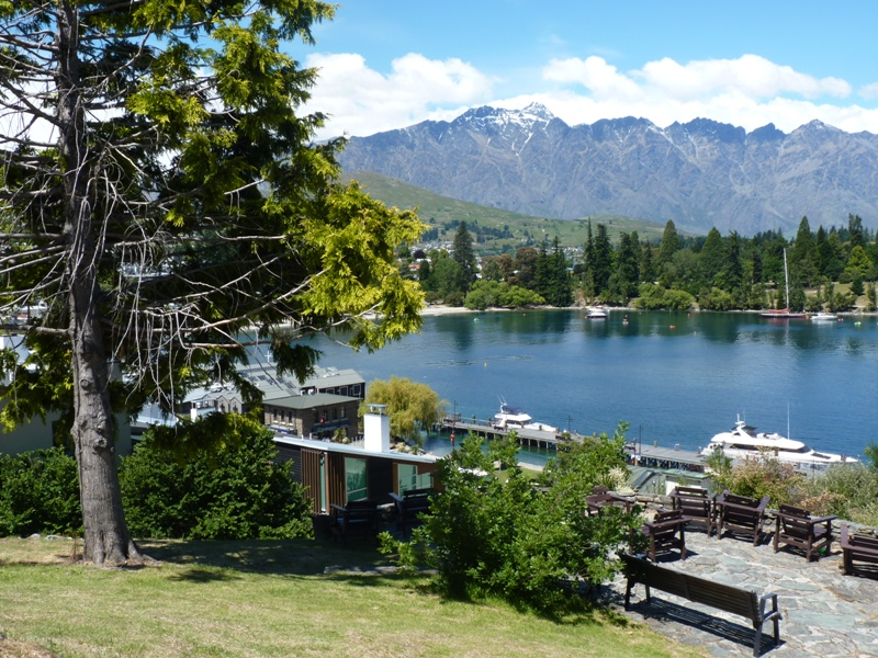 Nový Zéland / hostel vQueenstownu