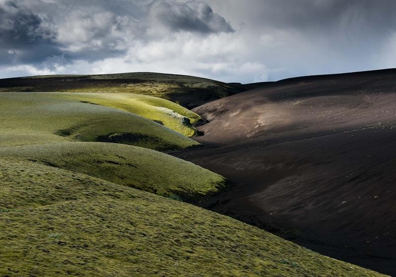 Hříčka islandské přírody- lávovomechová zákoutí