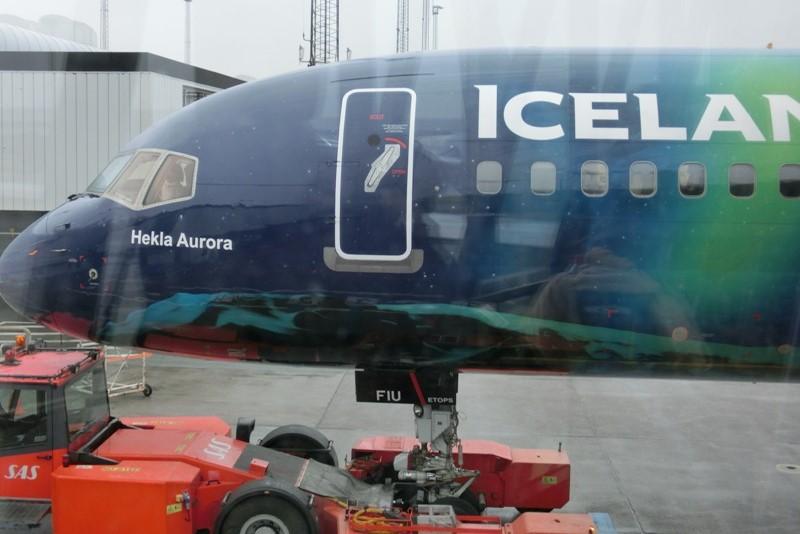 K dopravě na Island využíváme leteckou přepravu