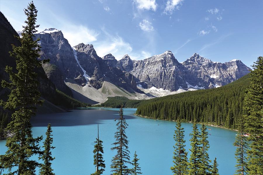 Kanada v září
