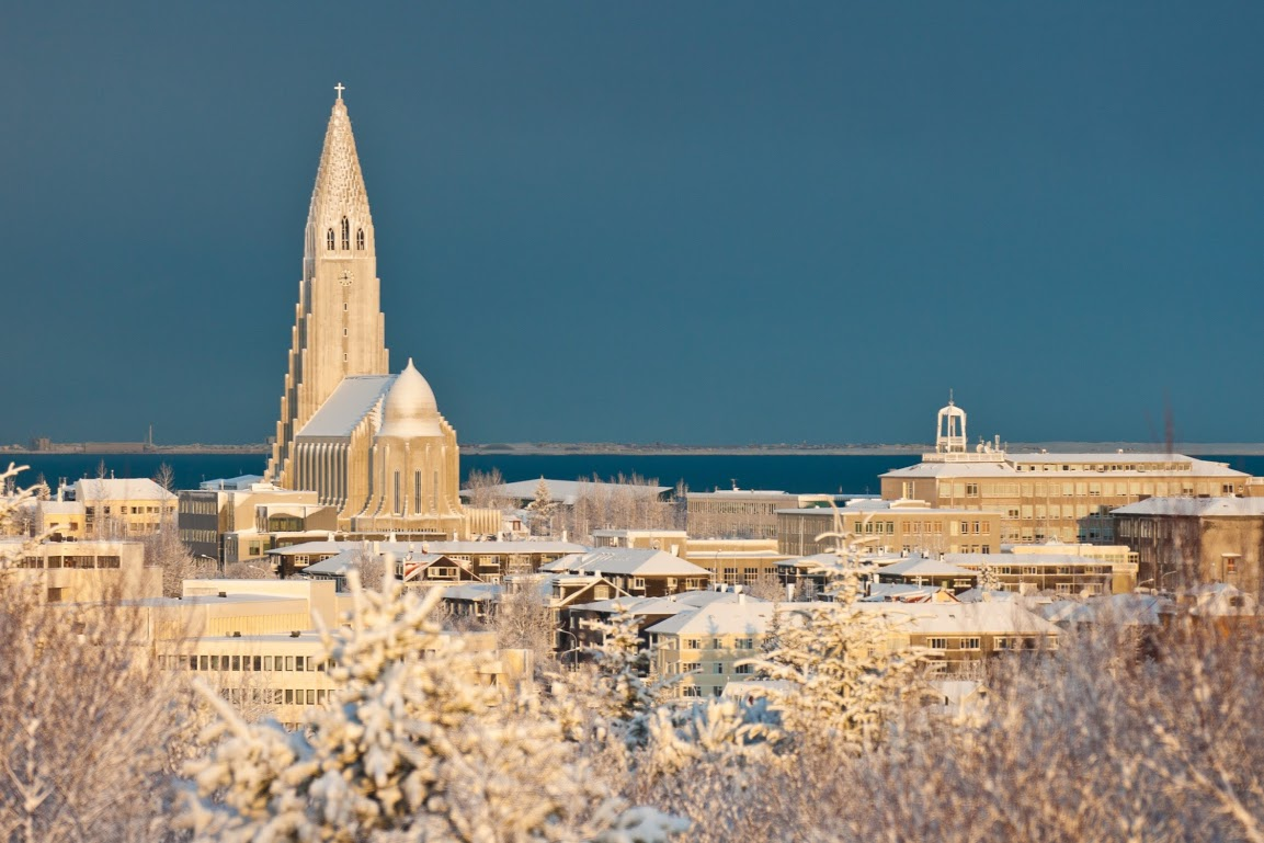 Katedrála Hallgrimskirkja v Reykjavíku