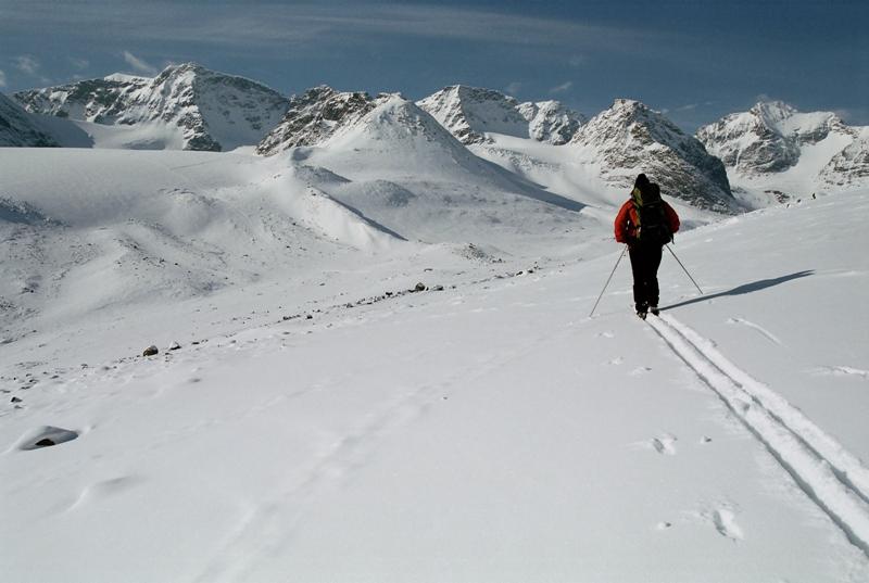 Kebneke je nejvyšší horou Švédska