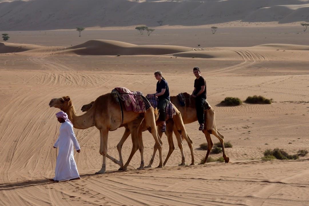 Klasický pouštní dopravní prostředek