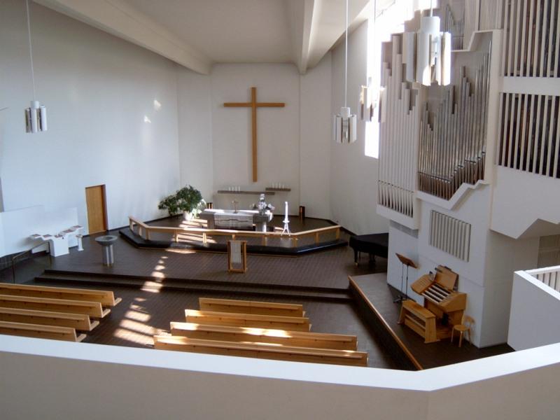 Kostel architekta Arvara Aalta