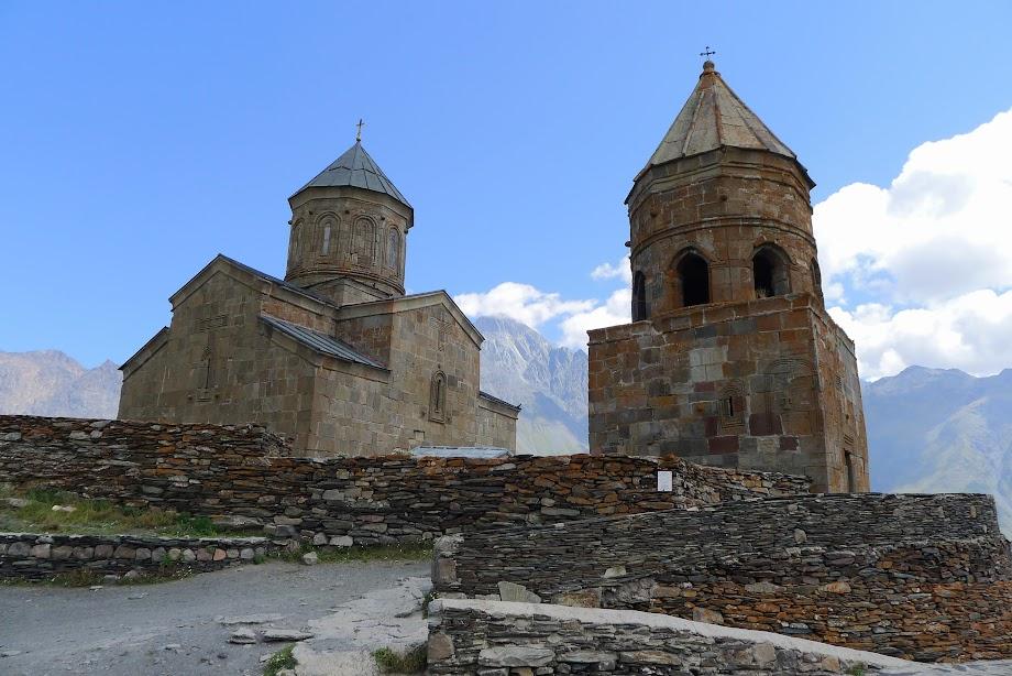 Kostel Nejsvětější Trojice v Gergeti
