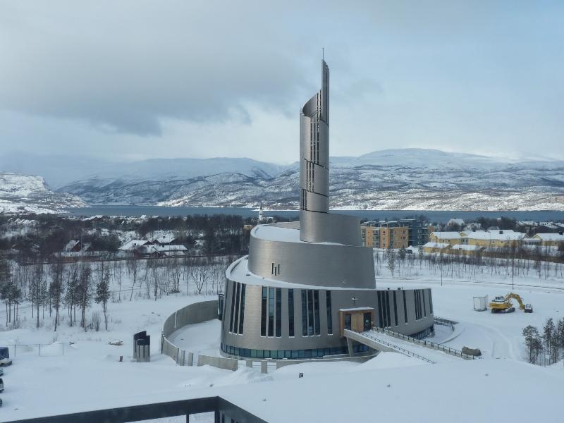 Kostel Polární záře v Alta
