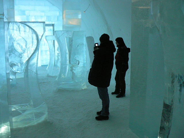 Ledový hotel Jukasjarvi