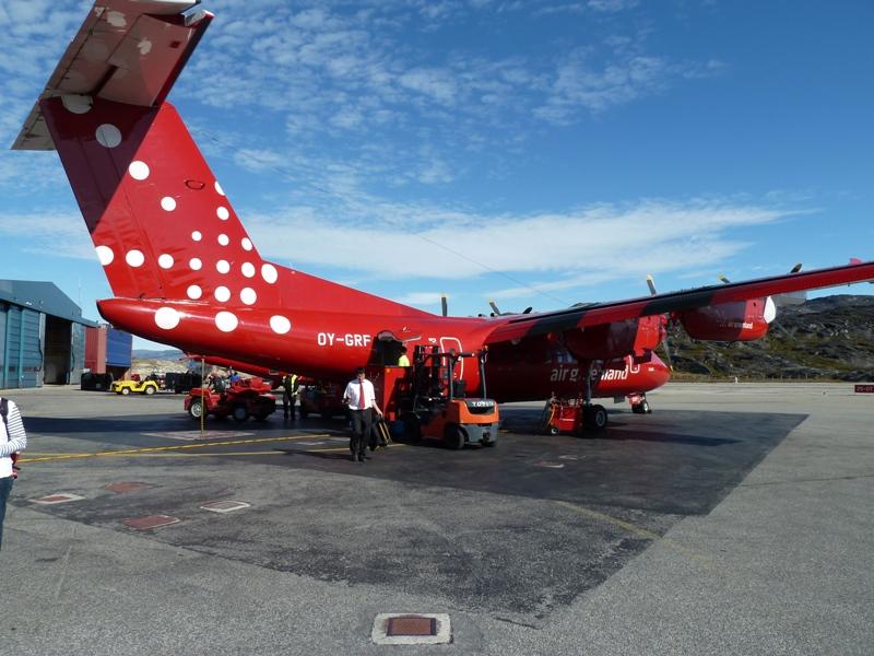 Letadlo společnosti Air Iceland