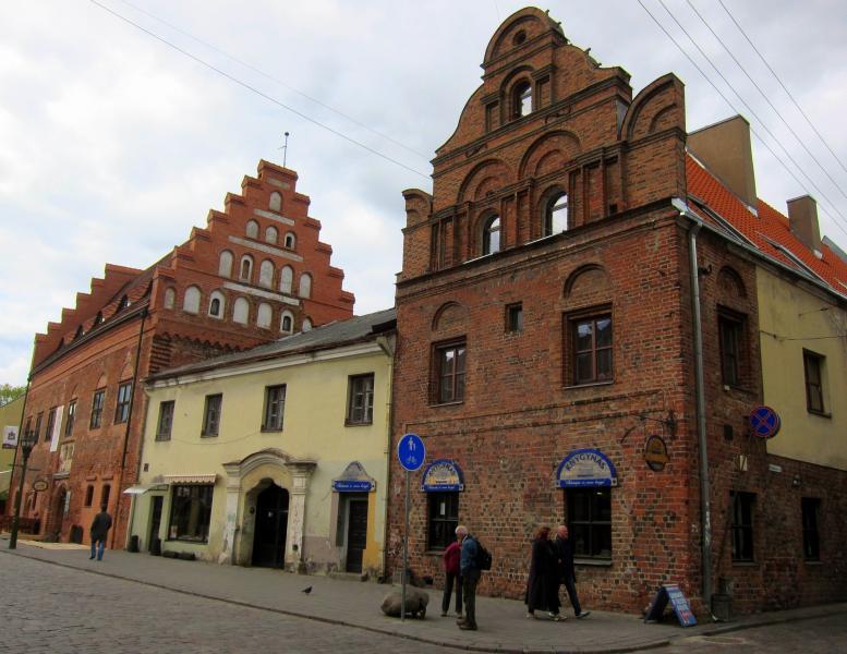 Litevské město Kaunas