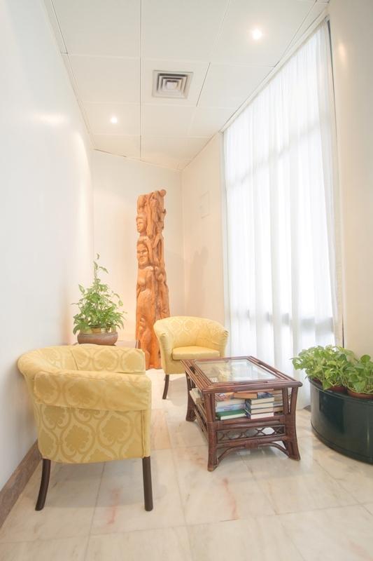 Lobby místnost v hotelu do Centro, Funchal