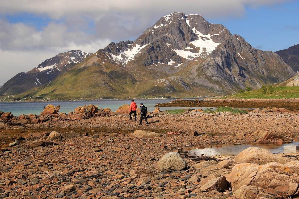 Procházka po pobřeží Lofot