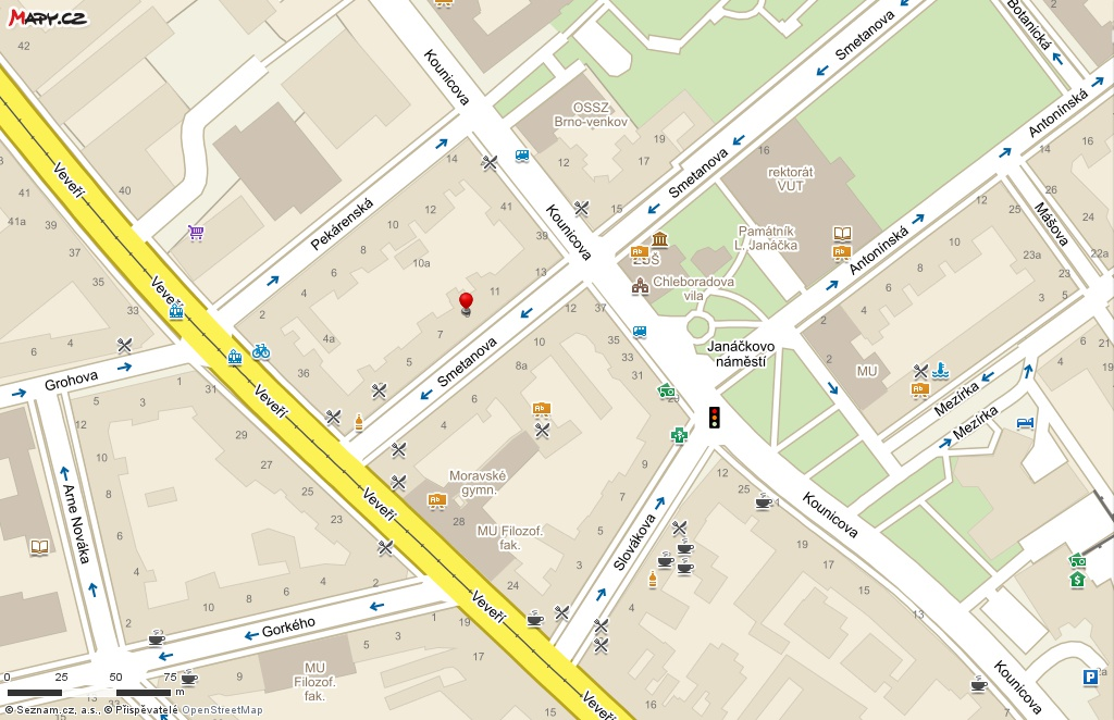 Redakce - Infoscope - zkatalogu / mapa Periscope Skandinávie, Smetanova 9, Brno