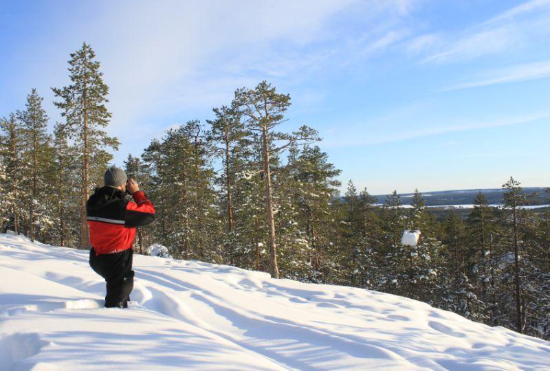 Medvědí brloh - výlet na sněžnicích