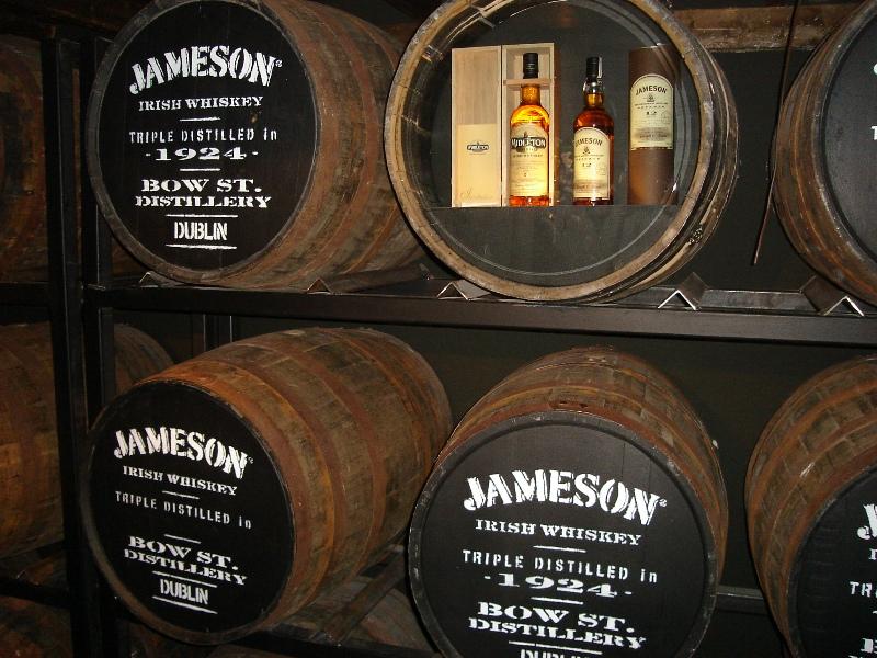 Muzeum Jameson Distillery v Dublinu
