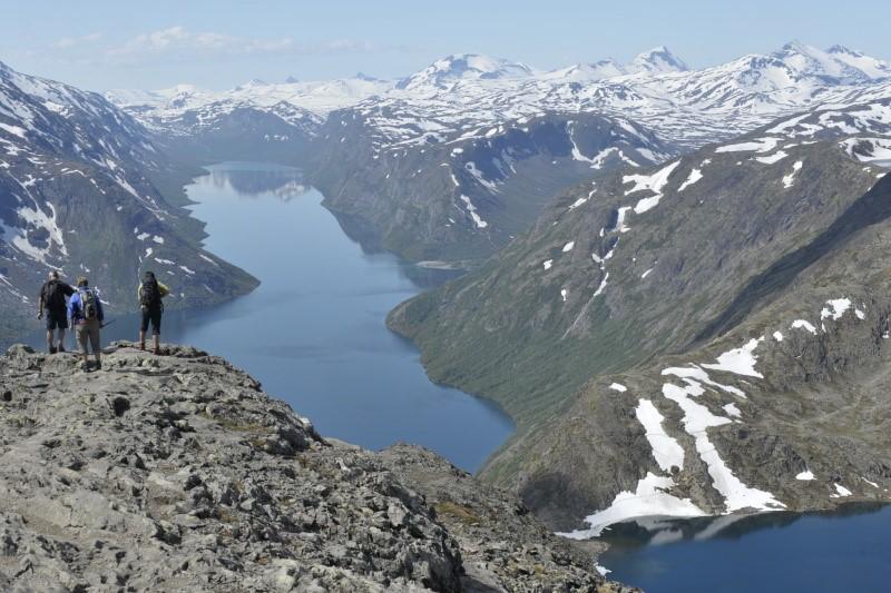 Norská národní túra, hřeben Bessegen
