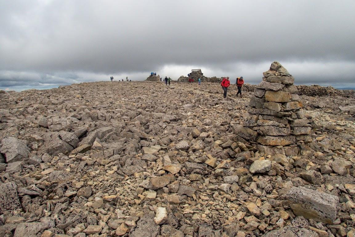 Na vrcholu Ben Nevisu