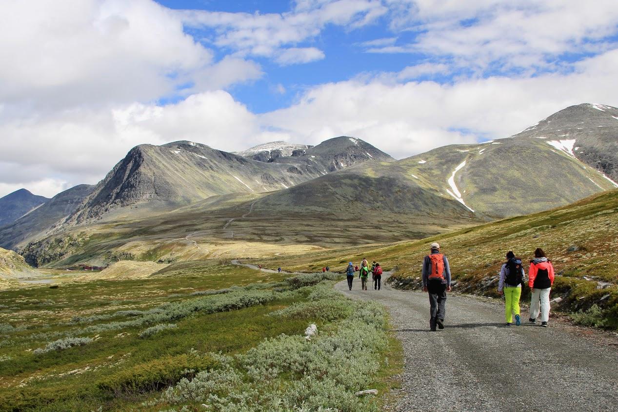 NP Rondane túra k chatě Rondvasbu
