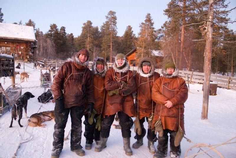 Návrat do dob Zlaté horečky v Engholm Husky
