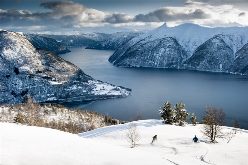 Nejkr�sn�j�� m�sta zimn�ho Norska