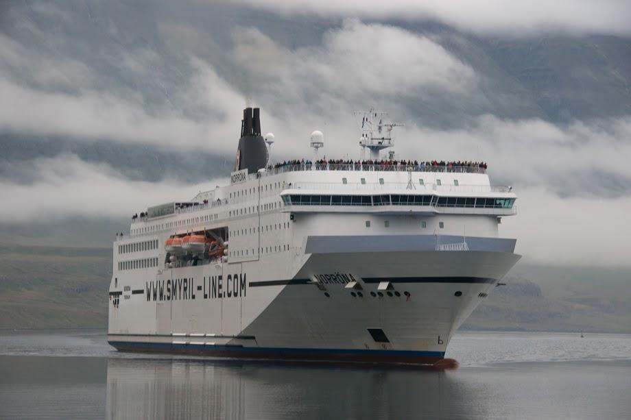 trajekt na Island - Norrona