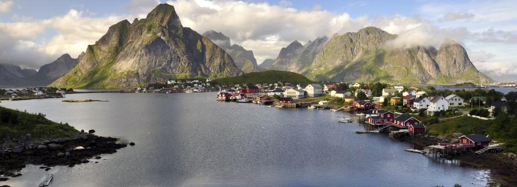 Intro / Norsko, Lofoty
