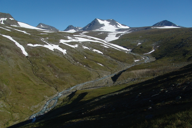 NP Sarek je nejstarší evropský národní park