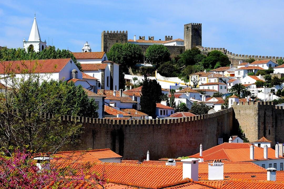 Óbidos, hradby ve městě