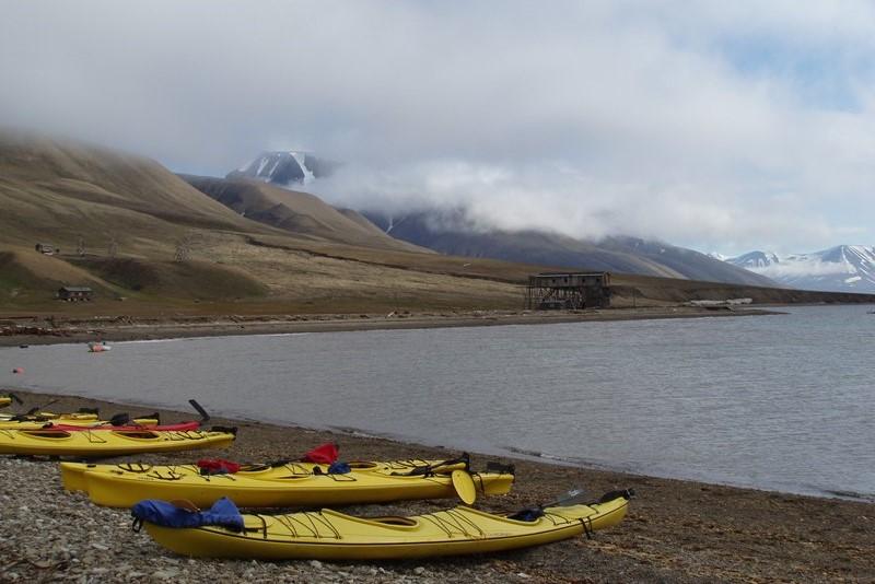 Odvážní mohou vyzkoušet plavbu na kajaku