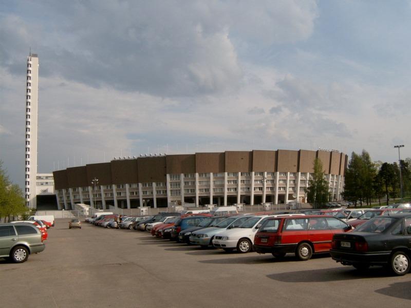 Olympijský stadion v Helsinkách
