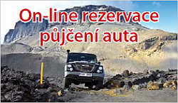 Island / On-line rezervace aut
