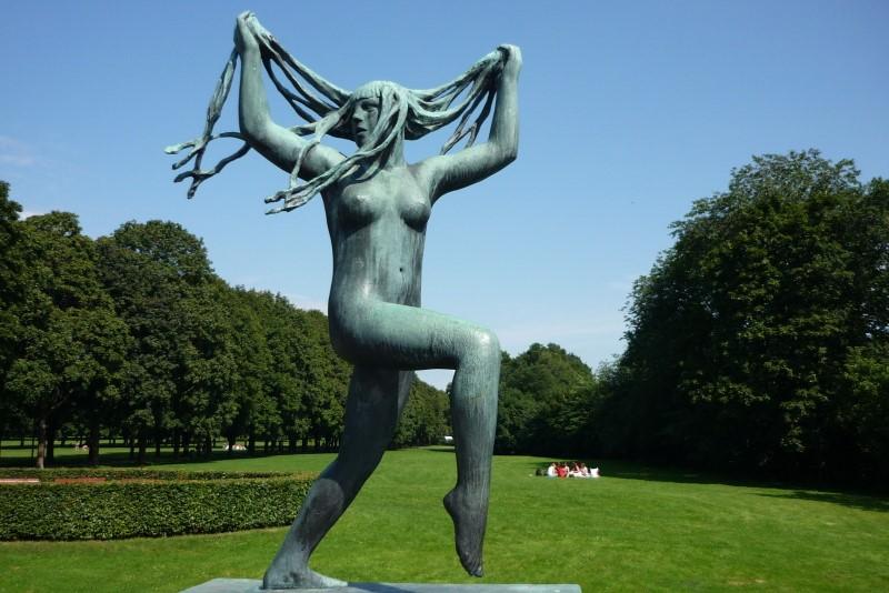 Oslo, ve Frognerově parku