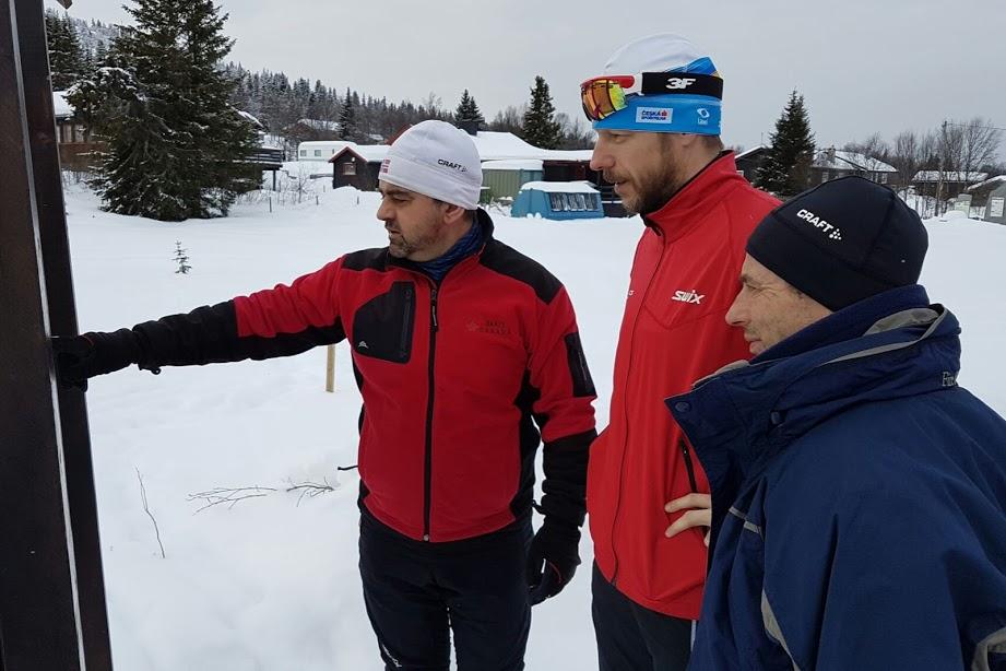 Petr Burian na zájezdu Na běžkách za losy