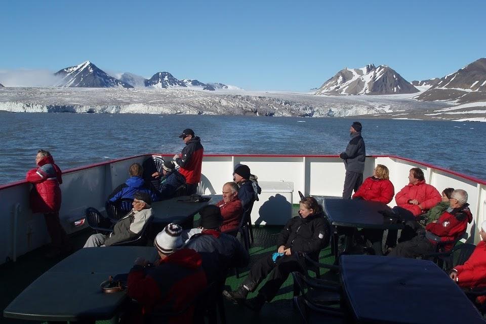 Plavba do Barentsburgu