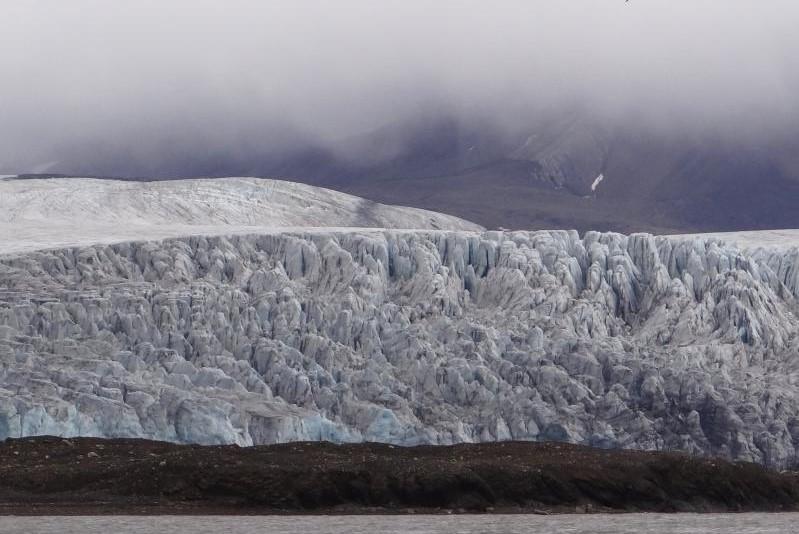 Plavba k ledovci Esmarksbreen