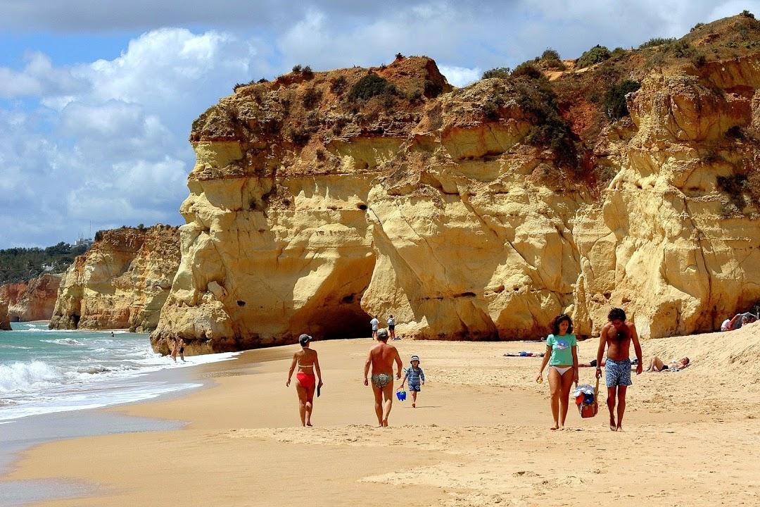 Portugalská riviéra v oblasti Algarve