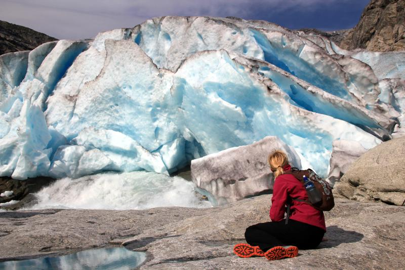 Pod ledovcem Nigardsbreen