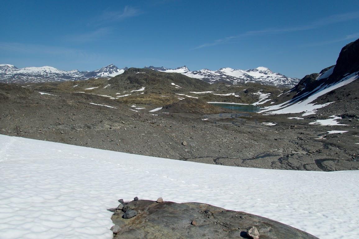 Pohled na centrální Jotunheimen